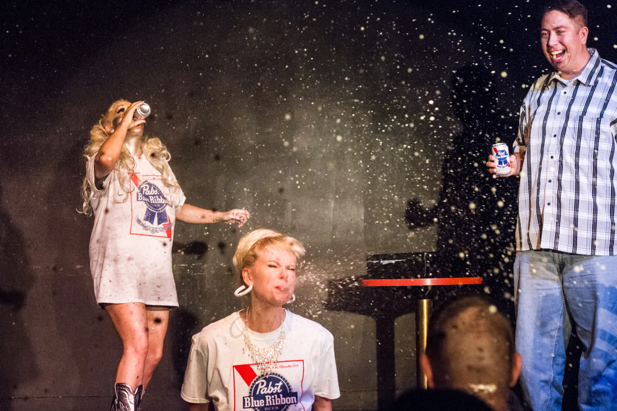 Hot Mess sponsored by Pabst Blue Ribbon | photo by Heather Schofner Photography