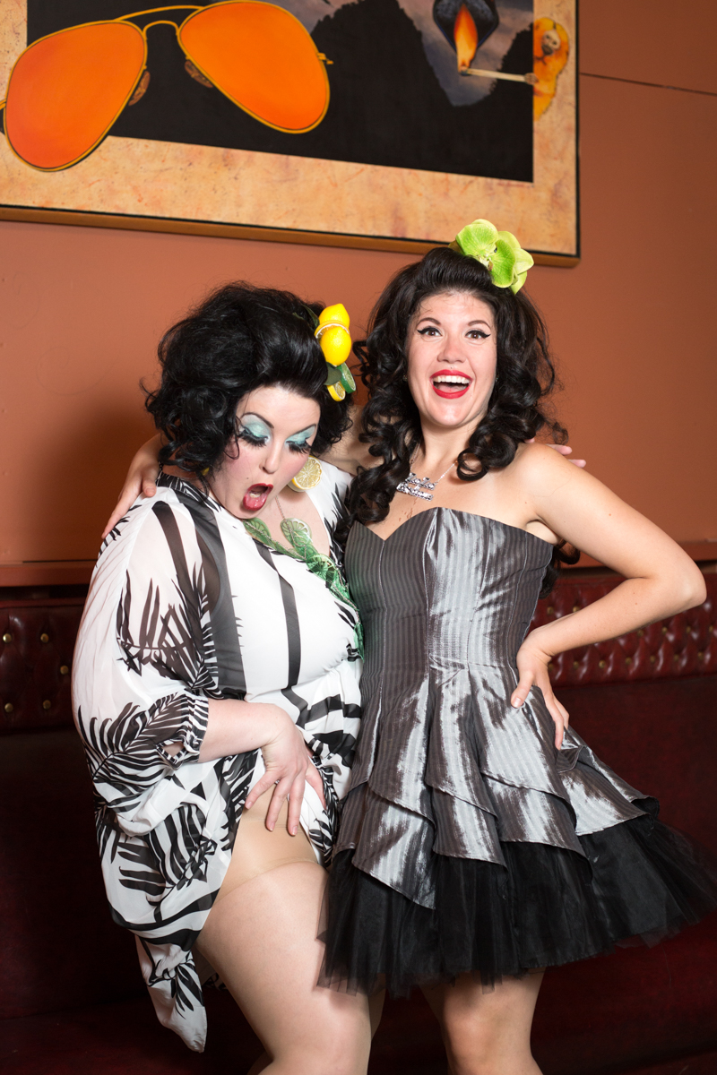 After-show photos at Rock Candy Burlesque's June Tassel Tuesday event | photo by Heather Schofner Photography