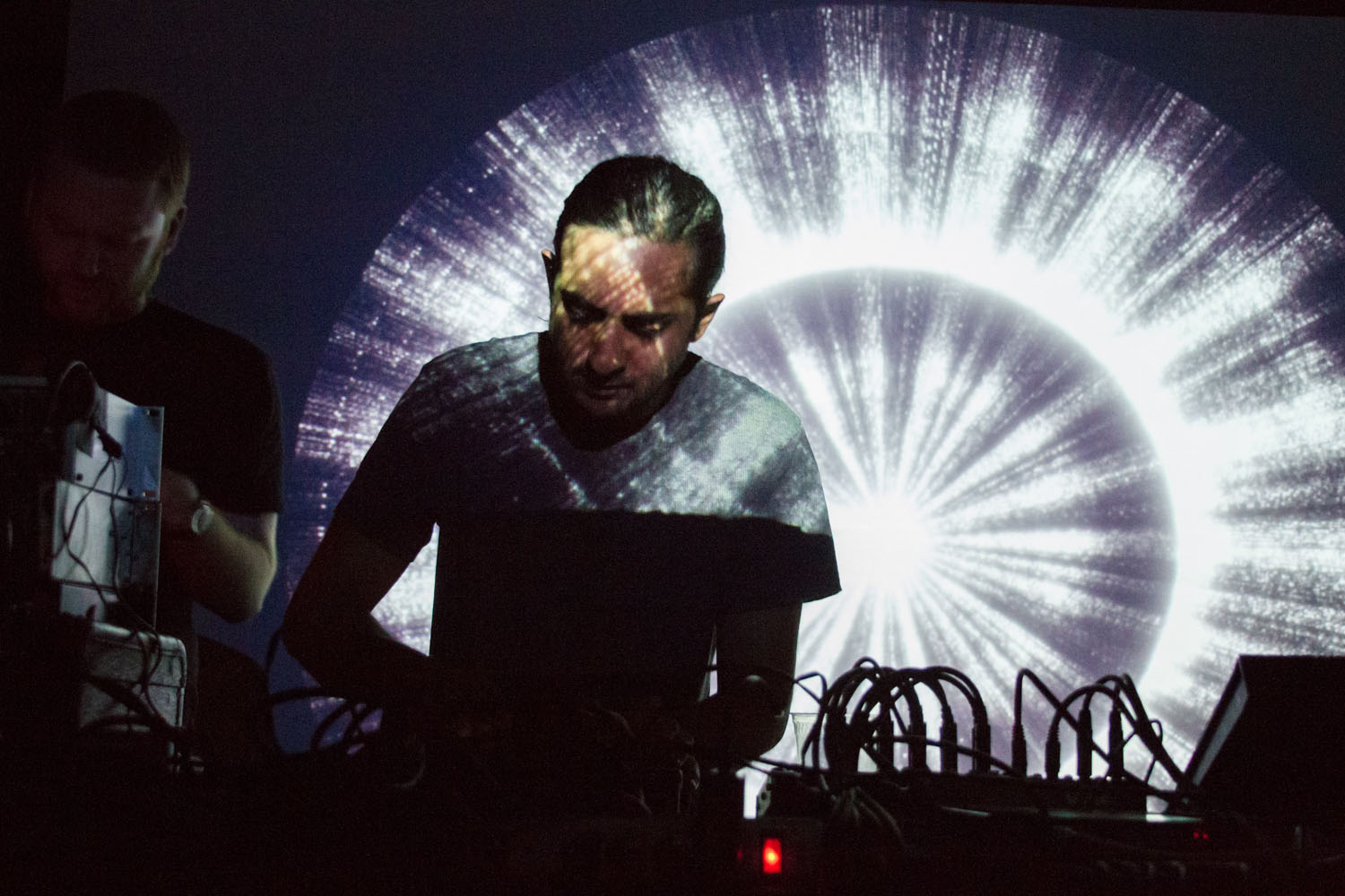 Emptyset at Decibel Festival | photo by Heather Schofner