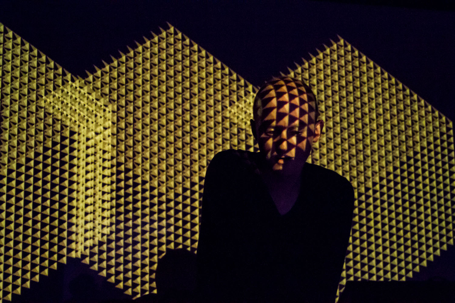 Kangding Ray at Decibel Fetival in Seattle | photo by Heather Schofner